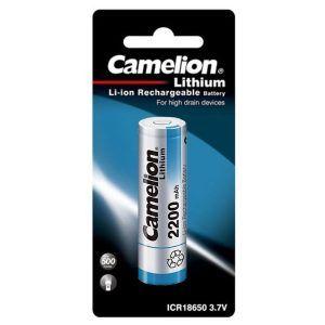 باتری لیتیوم-یون 18650 کملیون Camelion ICR2200mAh